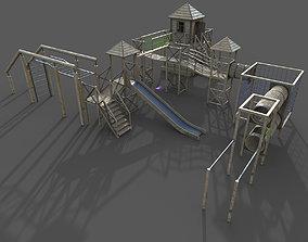 Playground 3D asset game-ready