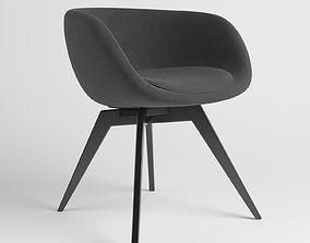 Scoop Low Chair 3D