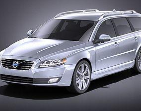 Volvo V70 2014 VRAY 3D