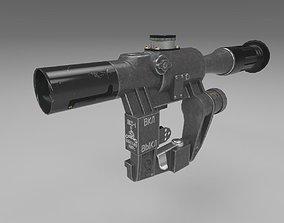 PSO-1 optical sniper sight 3D asset low-poly