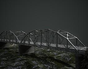 Old Modular Bridge PBR 3D model