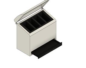 Electric Tooth Brush Header Holder 3D printable model