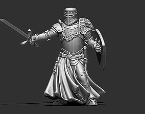 Crusader 35mm scale 3D print model