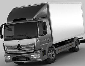 3D Mercedes Atego 2014 short