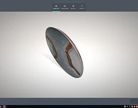 captian america sheeld 3D asset