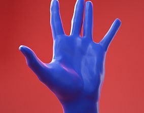 3D Male Hand 21
