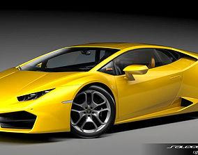 3D model Lamborghini Huracan LP 580 2017