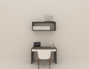 3D model study area table
