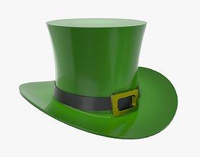 3D model Saint Patrick day hat