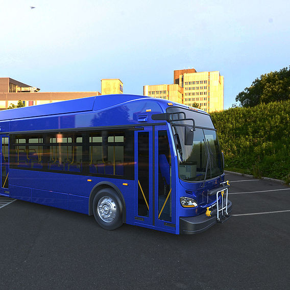 Short bus New Flyer XDE60