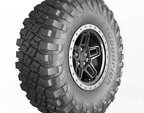 BFGoodrich wheels 3D model