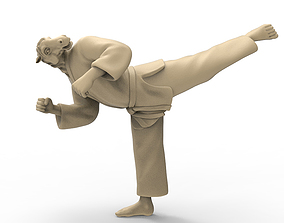 3D print model Horse Back Kick