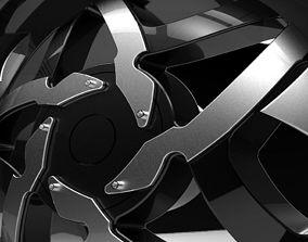 Elegant Rims 3D model