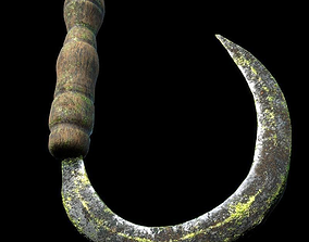 3D Sickle Corona render scene and Substance Painter files