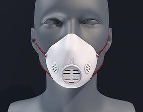 Face mask 3D Printable Model
