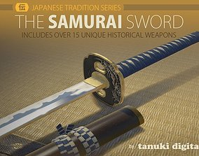 The Samurai Sword 3D model
