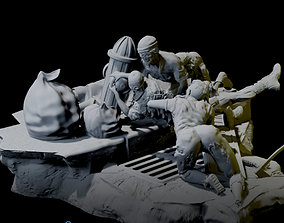 3D printable model The invasion of zombies