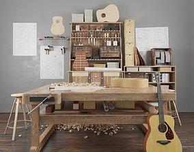 Guitar workshop 3D model