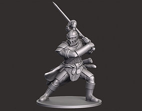 3D print model Human Knight Miniature