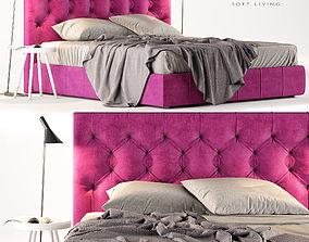 3D model Bed Felis Hamilton