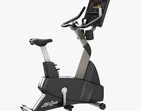 Life Fitness Integrity Series Upright Lifecycle 3D model
