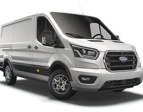 Ford Transit Van L2H1 Limited 2021 3D model