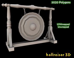 Big Gong 3D asset