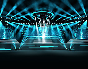 3D Event stage 04 design