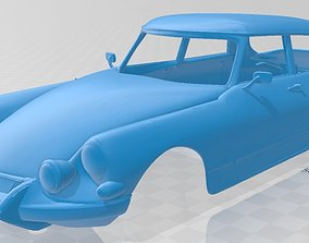 Citroen DS 19 Pallas 1966 Printable Body Car