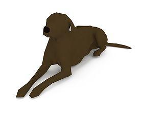 Dog 1k 1292 3D model realtime
