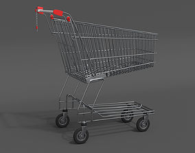 Shopping Cart 3d 3D PBR