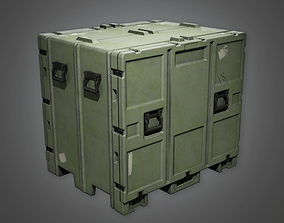 3D model Military Crate Container - MLT - PBR Game Ready