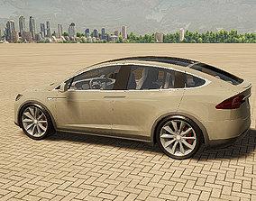 3d Twinmotion Car model - Tesla X