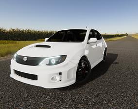 3D model Subaru Impreza 2010