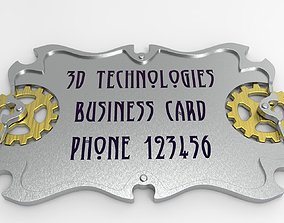 other business card 3D printing