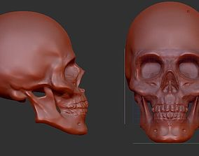 Skull for printing