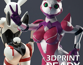 Sexy Space Bunny 3D print model