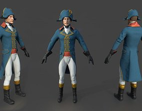 FRENCH CHARACTER 3D model PBR