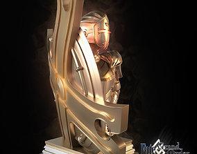 Fate GrandOrder Shielder Class Chess Piece 3D print model