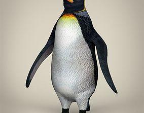 3D model Low Poly Realistic Penguin
