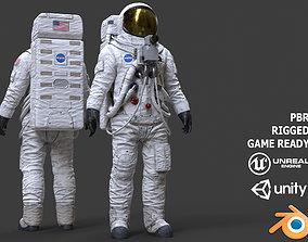 3D asset CS03 Space Suit LITE VERSION
