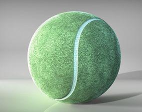 3D animated Tennis Ball