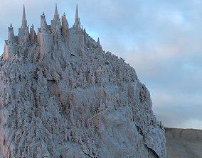 Romanian Medieval Castle Vlad the Impaler 3D model