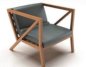 Modern Lumbar Support Chair 3D model
