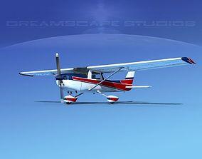3D Cessna 152 Aerobat V01