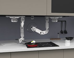 3D model Kitchen robot Bot Chef