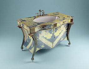 3D model Artdeco Washstand