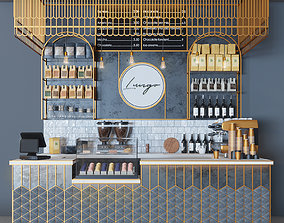 Cafe Lungo 3D model