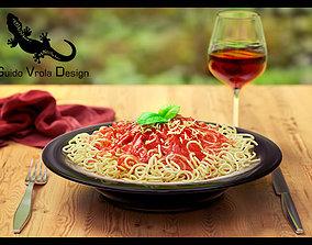 Italian lunch 3D