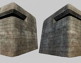 3D model Concrete Bunker 01 PBR